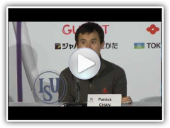 2013 ISU Worlds: Men's Podium Press Conference Highlights