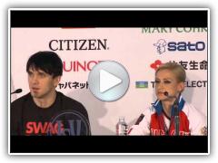 2013 ISU Worlds: Pairs Podium Press Conference Highlights