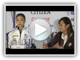 ISU Worlds 2013: Ladies Podium Press Conference Highlights