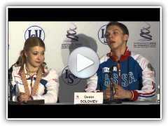 ISU Worlds 2013: Short Dance Press Conference Highlights
